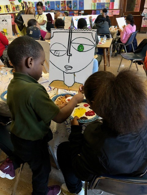 Noble's 2nd Annual Painting With a Parent