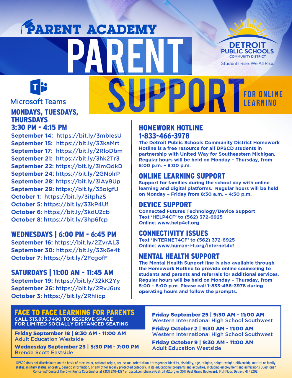 Parent Online learning Support