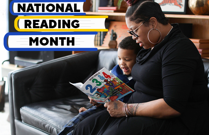 March is National Reading Month - Let's Celebrate!