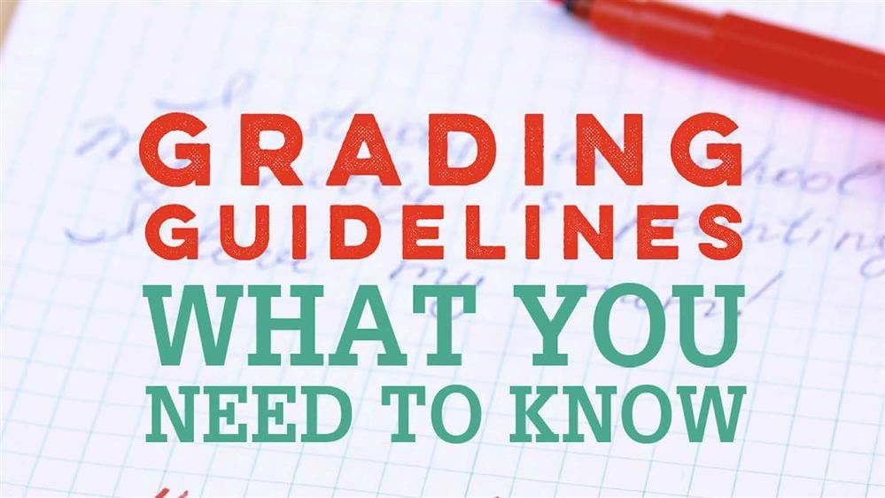 Online Grading Guidance