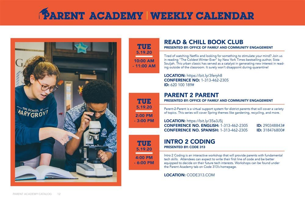 The Information for Parent Academy