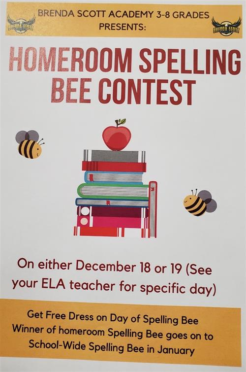 Spelling Bee Announcement