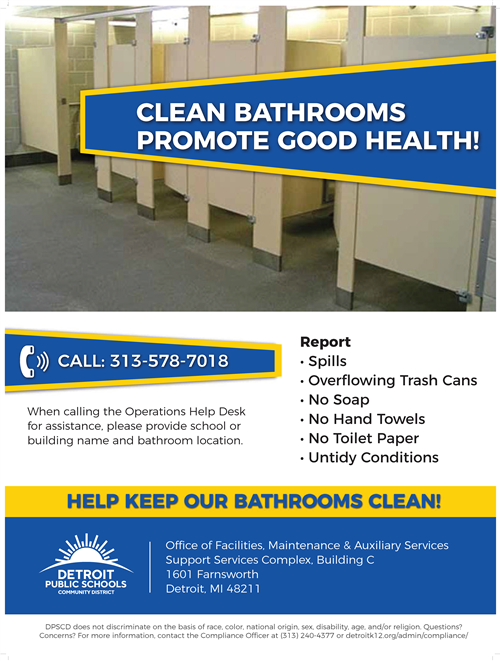 Clean Bathroom Initiative Image