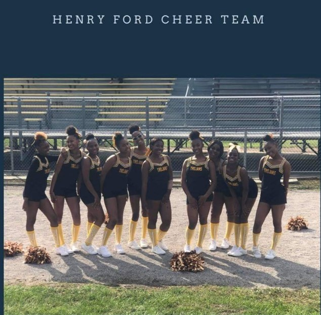 Image of Henry Ford Cheerleaders